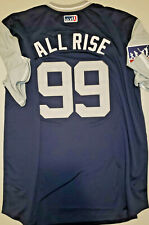 """Aaron Judge NY Yankees """"ALL RISE"""" Players Weekend Edition Baseball Jersey Sz XXL"""
