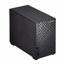 ASUSTOR AS1002T 2-Bay Personal Cloud NAS Server Hardware Encryption Engine