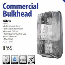 Powermaster Bulkhead Wall Building Outdoor Lighting External Light Fitting IP65