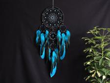 Black Blue Dream Catcher Wall Hanging Decoration