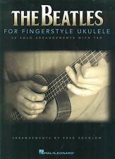 "BEATLES ""FINGERSTYLE UKULELE"" SOLO ARRANGEMENTS W/TAB & VOCAL MUSIC BOOK-NEW!!"