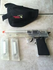 New listing Magnum Research INC Desert Eagle Airsoft Cybergun W/ Holster, Pellets, Xtra Clip