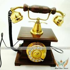 Classic Vintage Antique Old Fashion Telephone Set for Home & Office Decor Gift