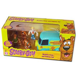 New Scooby Doo Mystery Solving Crew Figures & Van Mini Playset