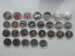 Full Set Ukraine 2018 Non-precious 2, 5, 10 Hryvnia 28 Coins Сomplete Collection