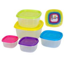 Envases de plástico de cocina de cocina de plástico de color principal transparente