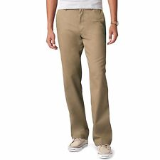 Dockers MEN/'S D2 ha vissuto e indossato Cachi Luce Chinos Dritto Fit Pantaloni pic566