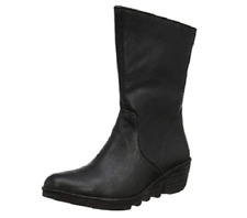 Fly London Women's Pono089fly Ankle Boots Black UK 4