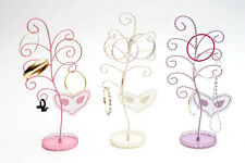 X22 JOBLOT OF MASK DESIGN JEWELLERY STANDS NECKLACE EARRING DRESS DISPLAY STANDS