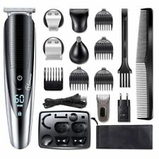 Corded Mens Haircutting Hair Clippers Shaver Kit Trimmer Complete Cut Mains