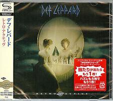 DEF LEPPARD-RETRO ACTIVE-JAPAN SHM-CD E50