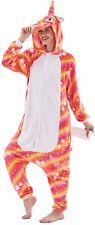 Unicorn Unisex Adult Pajamas Cosplay Animal Partywear One Piece Size M