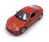 Toyota Gt 86 Auto Sportive Arancione Modellino Auto Auto Scala 1:60