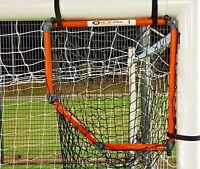 FOOTBALL GOAL TARGET CORNER SHOT TOP BINS SKILLS FRAME WITH CATCH NET SOLO-PRO