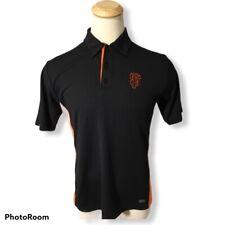 SF Giants MLB Baseball Genuine Mens Black Orange Polo Shirt Size Medium