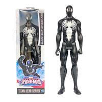 "12""(29cm) Marvel Titan Hero Black Suit Spider-man Venom Action Figure Kids Toys"