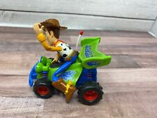 Disney Pixar Toy Story Woody Figure Riding R.C. Race Car Pull Back Toy