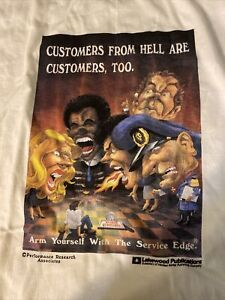 Vintage Customers from Hell are Customers Too  Single Stitch T-Shirt NWOT Large