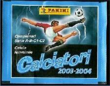 Calciatori 2003-2004 Lotto 40 Bustine Figurine Panini