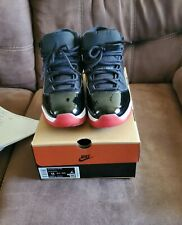 """Air Jordan 11""""bred"""" 2019 Size 11 100% Authentic Used great condition"""