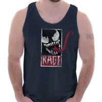 Edgy Tough Spider Hero Comic Book Tough Gym Adult Tank Top T-Shirt Tees Tshirt