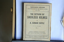 1905 - A. CONAN DOYLE - THE RETURN OF SHERLOCK HOLMES VOL. 1