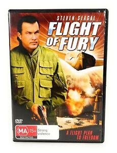 Flight Of Fury (DVD, 2007) Steven Seagal Region 4 Free Postage