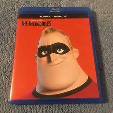 The Incredibles (Blu-ray, 2016, 2-Disc Set, Widescreen) No Digital Code
