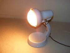 Alte Omega, Art Deco Wärmelampe, 50er, Porzellan, Schreibtischlampe
