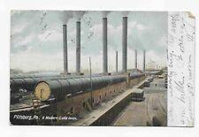 Vintage Postcard * Pittsburgh * Pa * A Modern Coke Oven * 1905