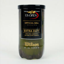 Wilson Tennis Ball Us Open Official Ball Extra Duty 2 Balls Can Yellow Wrt1000J