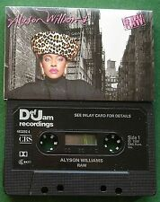 Alyson Williams Raw inc Masquerade & Sleep Talk + Cassette Tape - TESTED