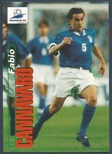 PANINI WORLD CUP 98- #018-ITALY & PARMA-FABIO CANNAVARO