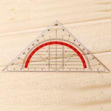 Multi-function Triangular Ruler Scribing Ruler Triangle Rulers Tool 45 Degrees D