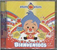 PLIM PLIM BIENVENIDOS + BONUS TRACK CD 2013 MUSIC FOR CHILDREN & KIDS IN SPANISH
