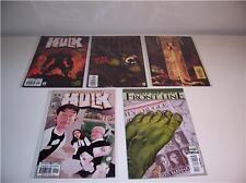 5 MARVEL COMIC BOOKS - INCREDIBLE HULK - 2002 - NM