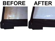 Soft Top Plastic Window Restorer and Scratch Remover     Jeep Wrangler CJ YJ TJ