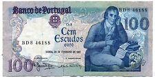 PORTUGAL  100  escudos 1981  ( BDS 46188 )