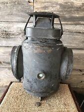 Vintage Adlake Non Sweating Chicago Lamp Railroad Switch Lantern