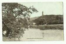 Stirling, Wallace Monument old postcard