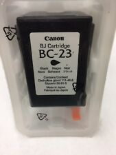 Canon BC-23 Black Ink Cartridge 0897A003 Genuine New