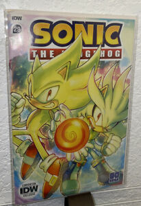 IDW Sonic the Hedgehog #29 SDCC 2020 EXCLUSIVE LIMITED VARIANT | ONLY 500 COPIES