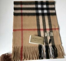 London scarf 100% Cashmere New With Box 180x32 Cm , Best Quality Free Delivery