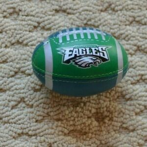 "Franklin mini Football~NFL Philadelphia Eagle~Squeeze stuffed 4"" toy Stress ball"