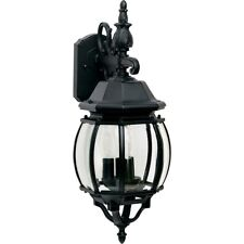 Maxim Lighting Crown Hill 3-Light Outdoor Wall Lantern Black - 1034BK