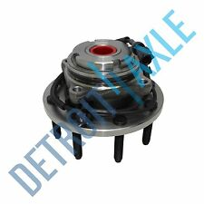 FRONT Wheel Hub And Bearing for 1999 - 2004 Ford F-450 Super Duty 2WD w/ ABS