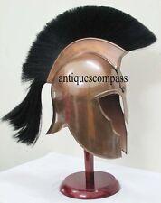 Medieval Troy Greek Achilles Trojan Armor Helmet - Roman Greek Corinthian Helmet