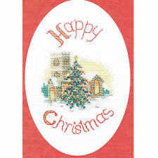 Derwentwater Designs Christmas Cross Stitch Card Kit - Midnight Mass