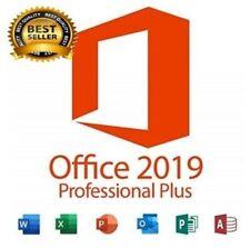 MICROSOFT®OFFIC 2019 key professional plus For Win 32/64 bit ⭕⭕1User⭕Lifetime⭕⭕