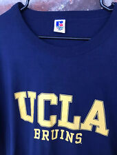 UCLA Bruins T Shirt Mens XXL Russell Athletic NuBlend 50/50 Large Spell Out EUC